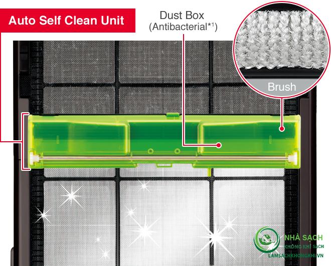 Bộ làm sạch tự động - Auto Self Clean