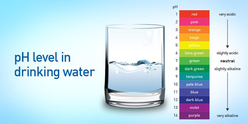 Tìm hiểu về độ pH của nước uống? Độ pH bao nhiêu là đạt chuẩn?
