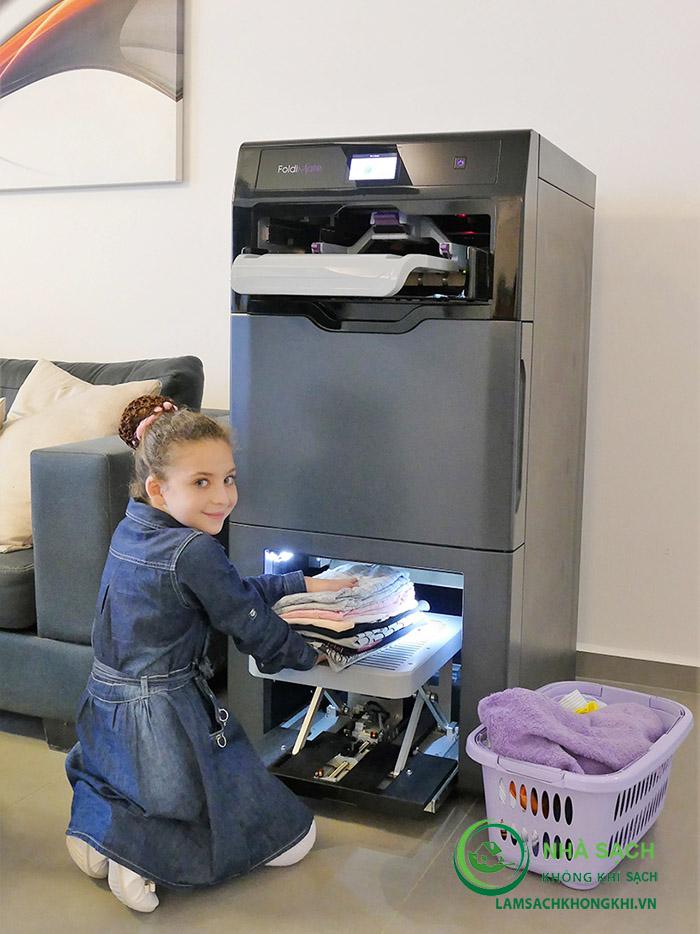 Máy giặt gấp FoldiMate - Công nghệ tự động là gấp quần áo
