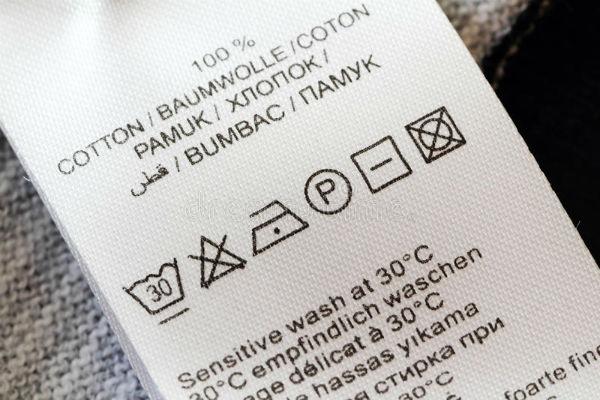 Những ký hiệu trên nhãn mác áo quần bạn cần biết