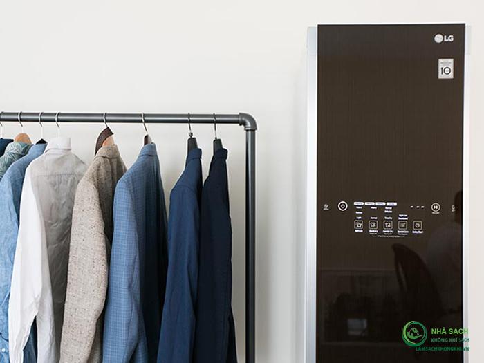 [ So sánh ] máy giặt hấp sấy nội địa LG Styler S3RER và LG Styler S3RF