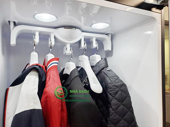 Tiếng ồn, độ rung và độ bền khi sử dụng máy giặt hấp sấy LG Styler