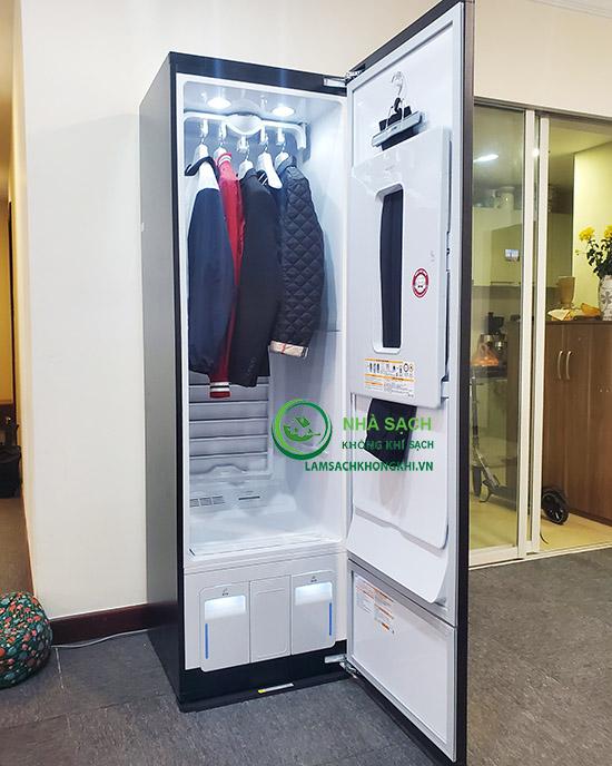 Đánh giá chức năng sấy của máy giặt LG Styler