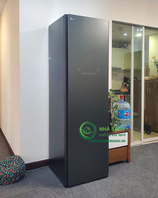 Chức năng khử mùi, khử bụi trên máy giặt hấp sấy LG Styler 2021