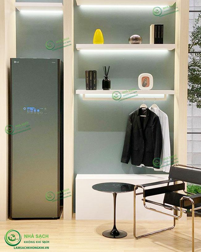Máy giặt hấp sấy LG Styler được chứng nhận thân thiện với bệnh hen suyễn và dị ứng