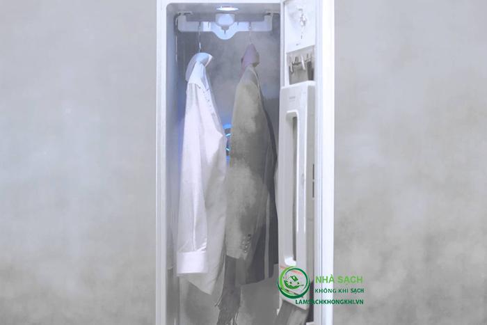 Tính năng ưu việt trên máy giặt lg styler