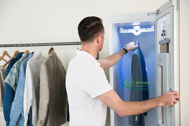 tủ chăm sóc quần áo thông minh LG styler
