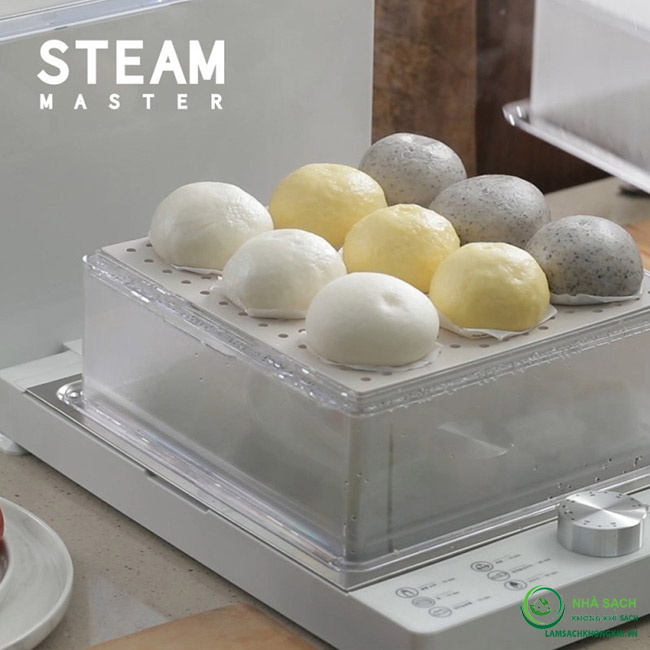 Máy hấp thực phẩm đa năng 2 tầng Steam Master