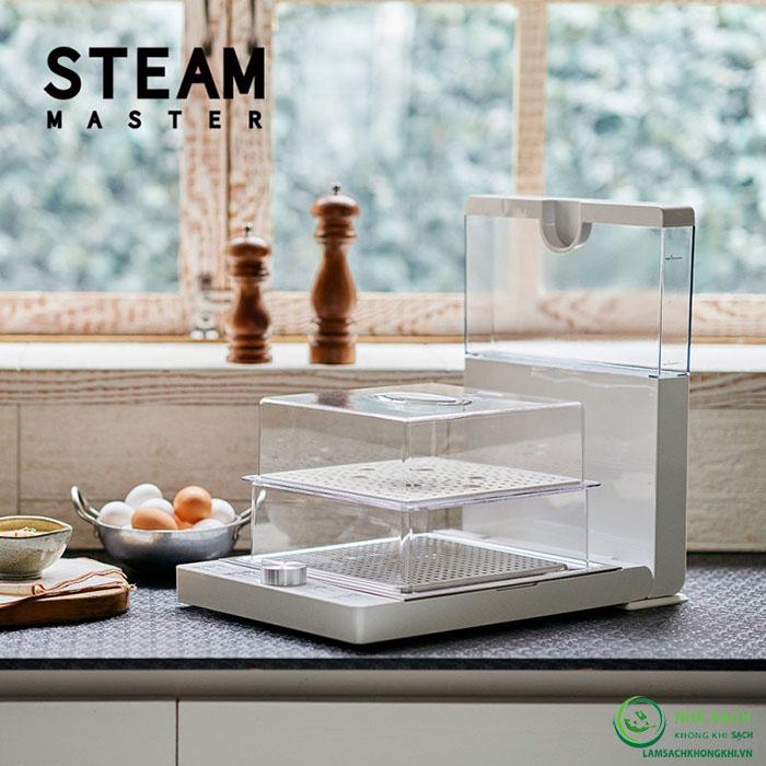 Máy hấp thực phẩm đa năng 2 tầng Steam Master Korea
