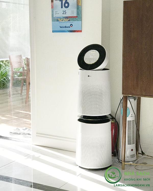 máy lọc không khí LG Puricare 2 tầng