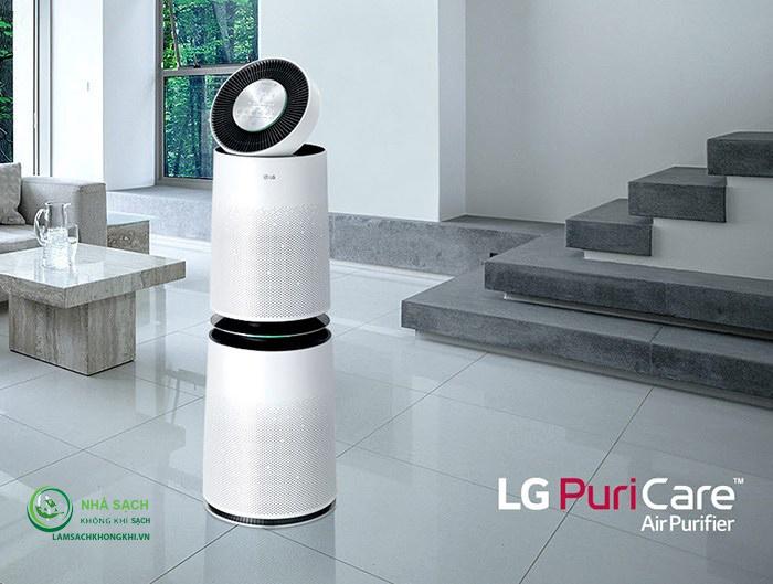 LG ra mắt mẫu máy lọc không khí mới LG PuriCare™