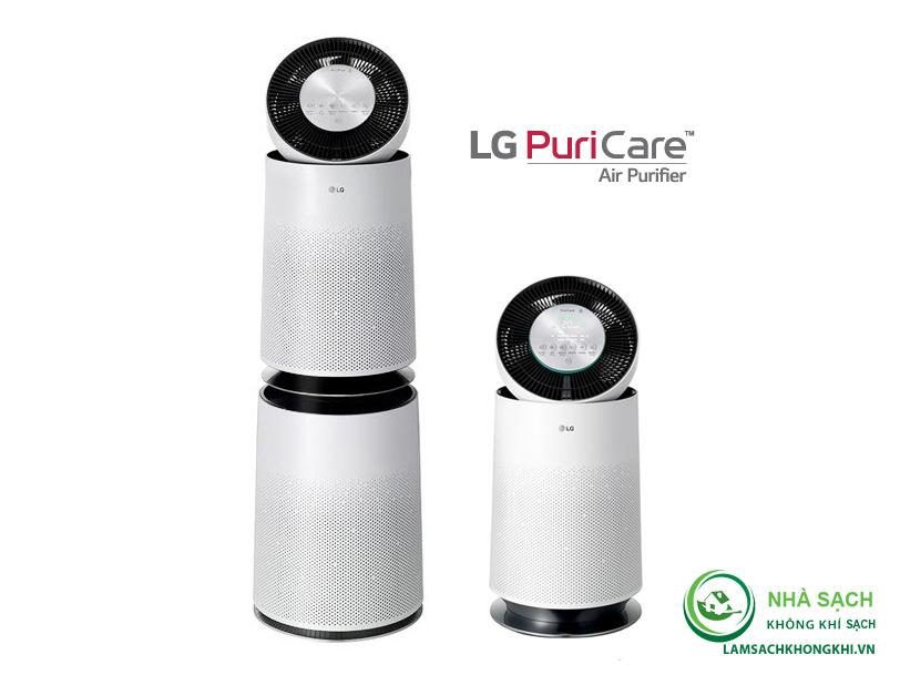 Máy lọc không khí LG Puricare 2 tầng AS95GDWV0 - Chính hãng