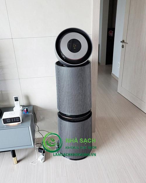 máy lọc không khí LG Puricare Alpha AS351NNFA
