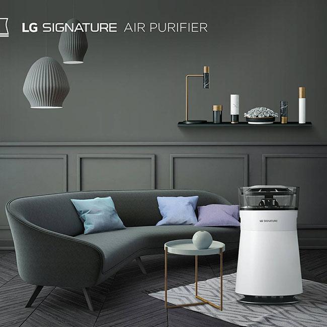 Trải nghiệm công nghệ tuyệt đỉnh trên máy lọc không khí LG Signature