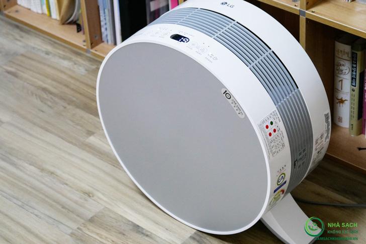 Nhận xét và đánh giá về máy lọc không khí LG