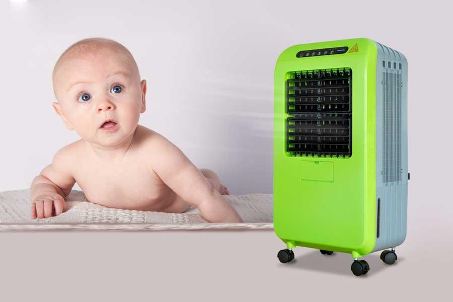 Lưu ý cần biết khi chọn máy lọc không khí cho trẻ sơ sinh và trẻ nhỏ