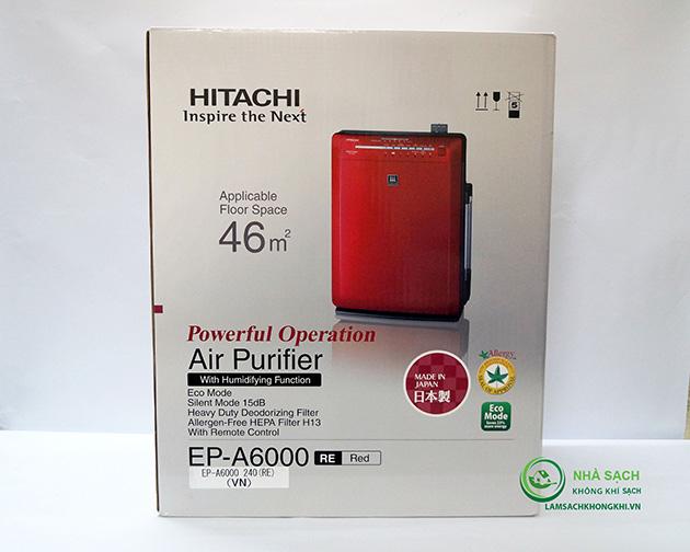 máy lọc không khí hiatchi ep-a6000