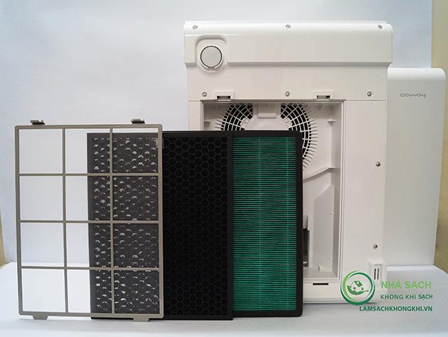 Máy lọc không khí và tạo ẩm Coway APM-1010DH - 2