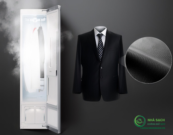 Máy giặt hấp sấy LG Styler