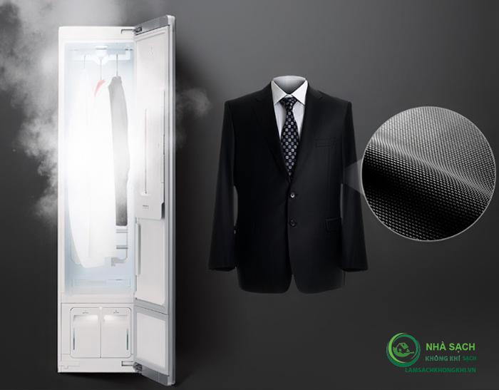Nguyên lý hoạt động của máy giặt hấp sấy LG Styler