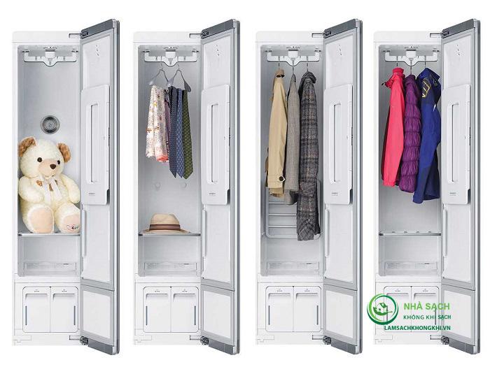 Máy giặt hấp sấy khô LG Styler S3RER