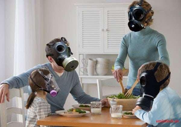 Ô nhiễm không khí trong nhà ở Việt Nam đang ở mức báo động