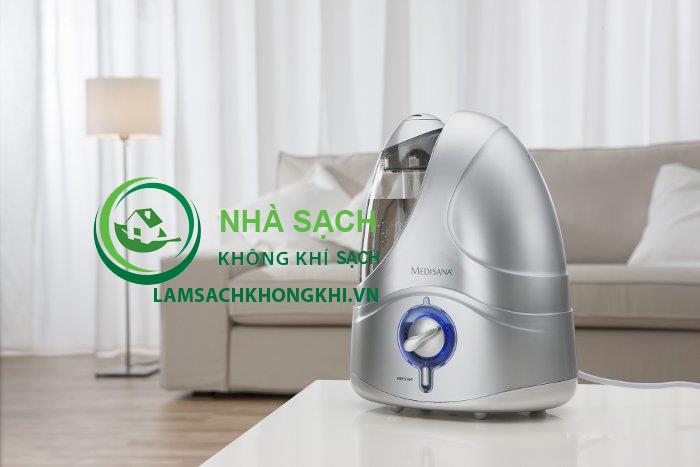 Máy tạo ẩm Medisana UHW cao cấp, thương hiệu Đức, bảo hành 3 năm