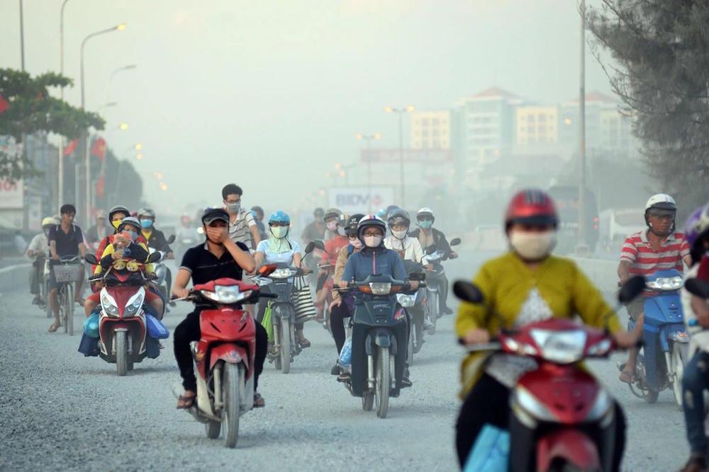 Sát thủ thầm lặng trong không khí ở Hà Nội và TP Hồ Chí Minh