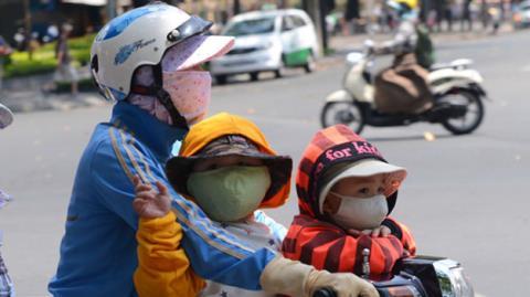 bảo vệ trẻ khỏi ô nhiễm không khí