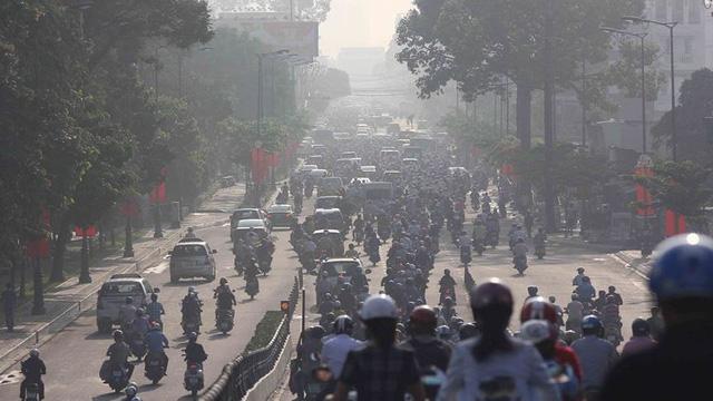 ô nhiễm không khí tại TP HCM