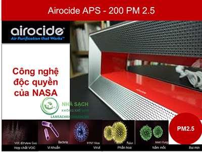 Máy làm sạch không khí Airocide APS-200 PM2.5 - 2