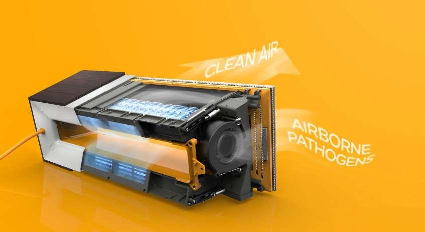 Máy làm sạch không khí APS-200 - 5