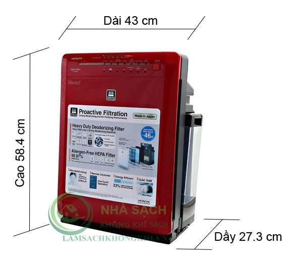 Máy lọc không khí và tạo ẩm Hitachi EP-A6000 - 3
