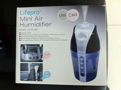 Máy tạo ẩm trên ô tô Lifepro L516-AM, bổ sung độ ẩm, chống khô da -2